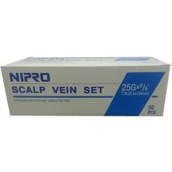 Scalp Vein 25G*3/4 Nipro